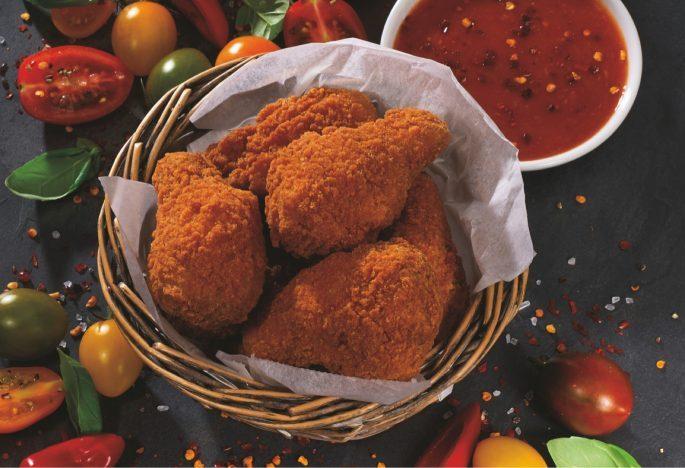Hot 'N' Crunchy Chicken Wings